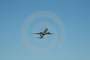 Airliner At Takeoff Stock Photography - Image: 8369162
