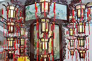 Palace Lantern Stock Photos - Image: 8369963