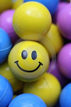 Smile Face Ball