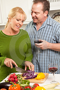 Happy Couple Enjoying An Evening Royalty Free Stock Images - Image: 8372799