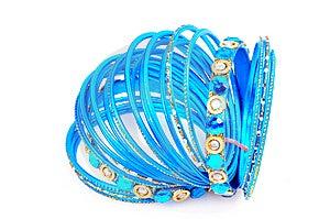 Blue Bangles Stock Photo - Image: 8373780
