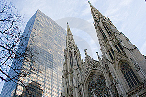 New York City Buildings Royalty Free Stock Photography - Image: 8374017