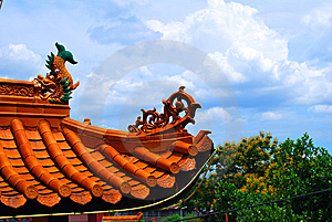 Chinese Temple Royalty Free Stock Images - Image: 8374709