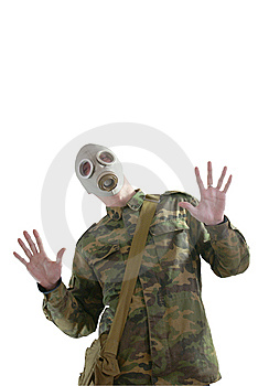 Gas Mask Royalty Free Stock Photos - Image: 8376208