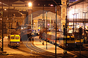 Train Station 2 Royalty Free Stock Photography - Image: 8376387