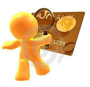 Verifying Credit Card Identity Stock Photography - Image: 8376492