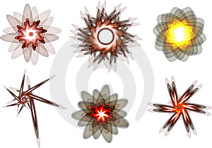 Decor Elements Royalty Free Stock Photos - Image: 8377278