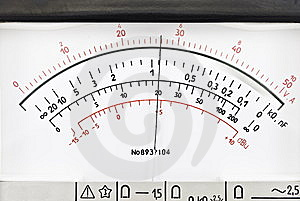 Vintage Analog Scale Stock Images - Image: 8377534