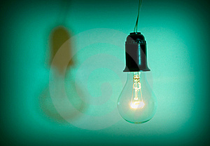 Light Bulb Royalty Free Stock Photography - Image: 8377537