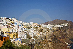 Oia, Santorini, Greece Stock Photos - Image: 8378713