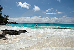 Anse Georgette Stock Image - Image: 8379041
