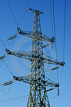 Power Transmission Tower Stock Photos - Image: 8379743