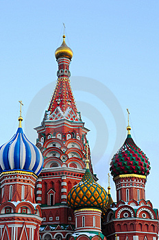 Fragment Church Of The Intercession Royalty Free Stock Photography - Image: 8380027