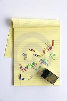 Blank Legal Pad Stock Photos - Image: 8380343