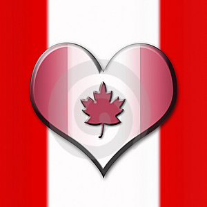 Flag Of Canada Royalty Free Stock Image - Image: 8380386
