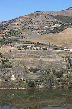 Douro River Landscape Royalty Free Stock Photos - Image: 8380598