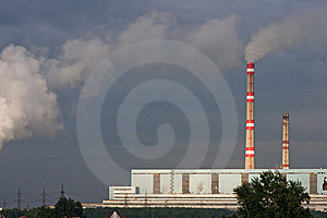 Power Plant Royalty Free Stock Photo - Image: 8381935