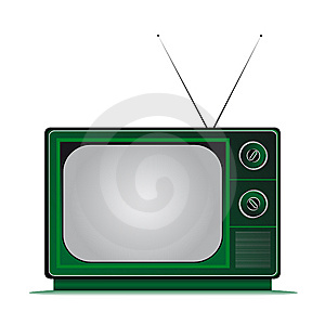 Retro Tv Stock Photography - Image: 8382112