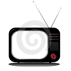 Retro Tv Stock Photos - Image: 8382113