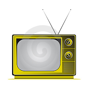 Retro Tv Royalty Free Stock Photography - Image: 8382127
