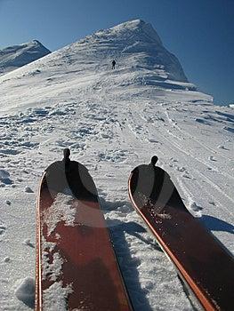 Skitouring Stock Images - Image: 8382404