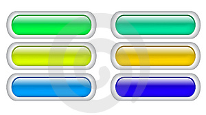 Color Buttons Royalty Free Stock Photos - Image: 8384918