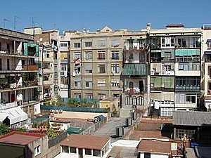 Living In Little Town In Spain Stock Image - Image: 8385681