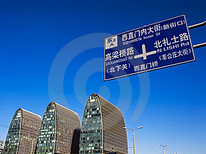 Street Signs Royalty Free Stock Image - Image: 8386246