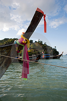Thai Boats Royalty Free Stock Photos - Image: 8386438