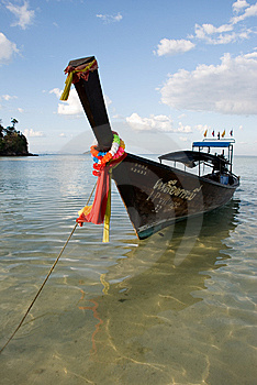 Thai Boat Royalty Free Stock Photography - Image: 8386447