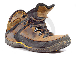 Worn Boot Royalty Free Stock Images - Image: 8387339