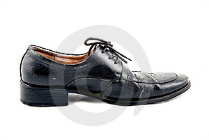 Black Leather Shoes Royalty Free Stock Image - Image: 8387456