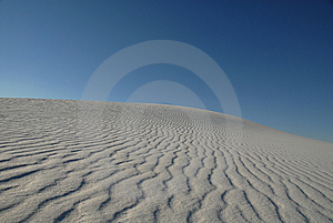 Wind Swept Sand Dunes Stock Images - Image: 8387904