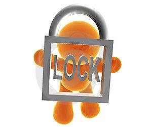 Secure Transaction Royalty Free Stock Image - Image: 8388866
