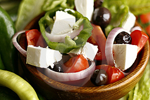 Greek Salad Royalty Free Stock Photos - Image: 8389388