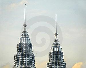 Kuala Lumpur Skyline, Malaysia Royalty Free Stock Image - Image: 8389586