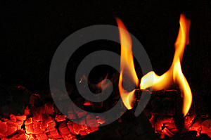 Flames Fire Stock Photo - Image: 8389960