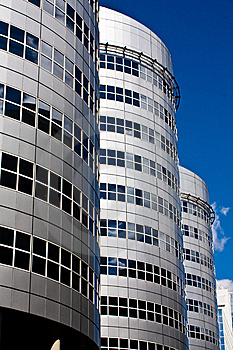 Office Towers In Rotterdam Stock Photo - Image: 8390080