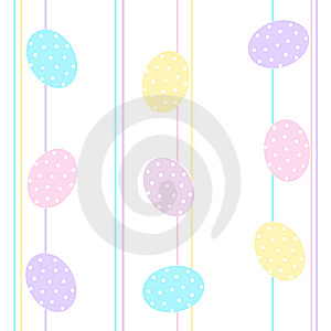 Easter Eggs Background / Seamless Pattern Stock Photo - Image: 8390370