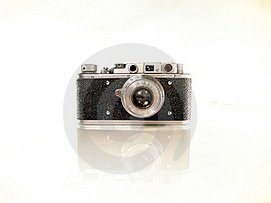 Old Photo Camera Stock Photo - Image: 8391110