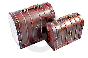 Vintage Chests Stock Photos - Image: 8391523