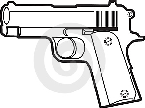 Pistol Royalty Free Stock Images - Image: 8391679