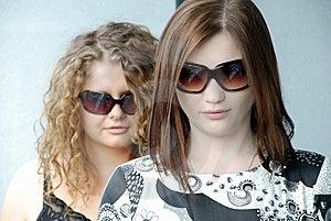 Girls Wearing Glasses Royalty Free Stock Images - Image: 8391779