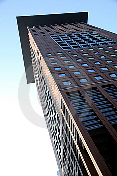 Skyscraper In Frankfurt Royalty Free Stock Photo - Image: 8391885