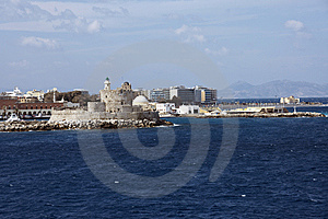 Harbor In Rhodes Island Stock Photography - Image: 8392522