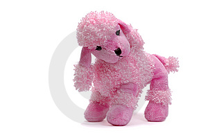 Pink Puppy, Plush Dog Royalty Free Stock Photos - Image: 8393138