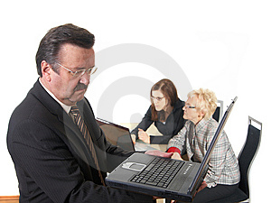 Working Hard Royalty Free Stock Image - Image: 8393586