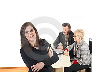 Businesspeople Stock Photos - Image: 8393593