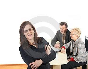 Businesspeople Stock Photos - Image: 8393593