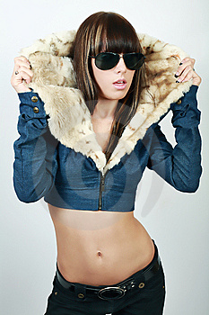 Sexy Pretty Young Woman Stock Images - Image: 8394764